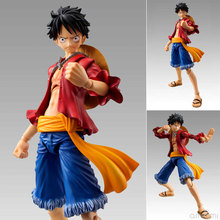 Hot ONE PIECE Figures Monkey D Luffy Figure Toy OP 18 Cm PVC Doll Manga Anime Action Movable Series Collectible Straw Hat