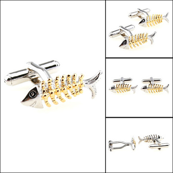Fish cuff link Men's shirt cuff links Custom cuff links Novelty Cuff link Pncstore,5pairs/lot,PC156782
