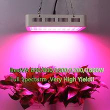 BestVA 600W 800W 1000W 1200W 1600W  Full Spectrum High Yield LED Grow Light For Indoor plants , Warehouse in US, DE, AU, UK(China (Mainland))