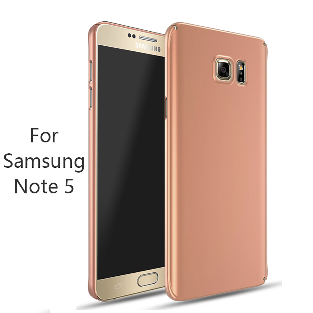 GAGALOR Hard Phone Case for Samsung Galaxy Note 5 Note5 Environmental PC Ultra thin Frosted Matte 360 Degrees Full Protection(China (Mainland))