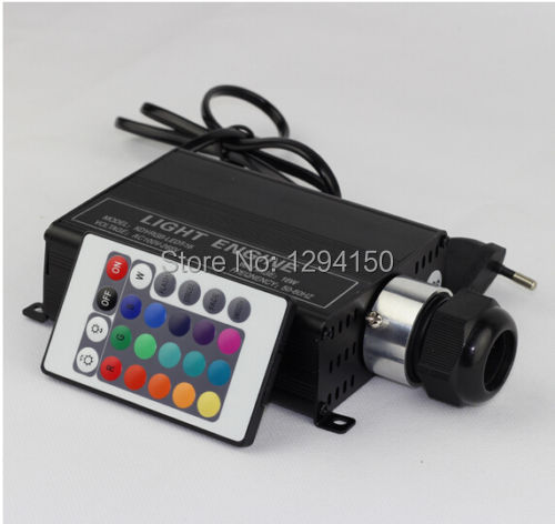Free shipping high quality 16w led light engine with 24keys remote control RGB colors ,led light source(China (Mainland))