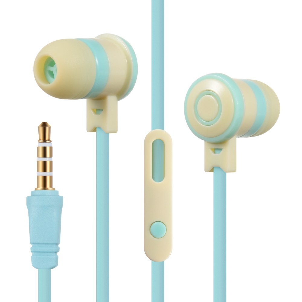 2017 Lovely&me L-1 In-Ear microphone lollipop storage box earphone kids cute earbuds for Iphone samsung xiaomi LG Huawei HTC