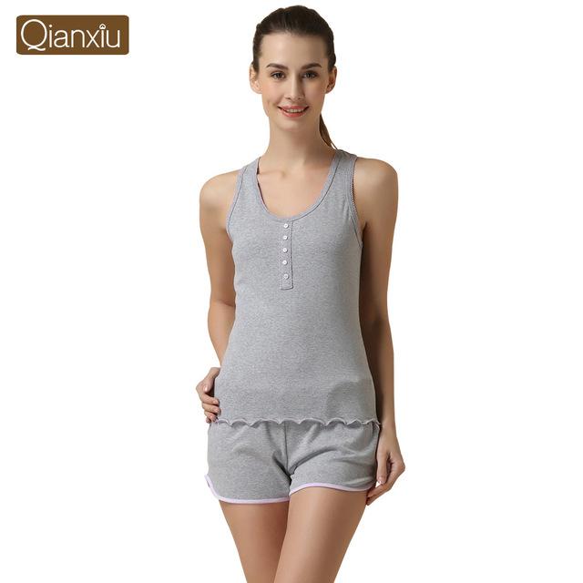 Летние пижамы для женщин модальные Pijama FeМиниno рукавов пижамы комплект для девочки