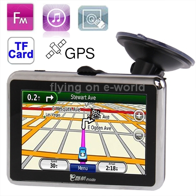 CH2080 4.3 inch 480 x 272 Pixels TFT Touch Screen Car GPS Navigator,4GB Memory and Map,FM Transmitter and TF Card Hot Sale(China (Mainland))