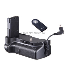 Vertical Power Battery Grip for Nikon D5100 D5200 D5300 + ML-L3 Remote Free Shipping