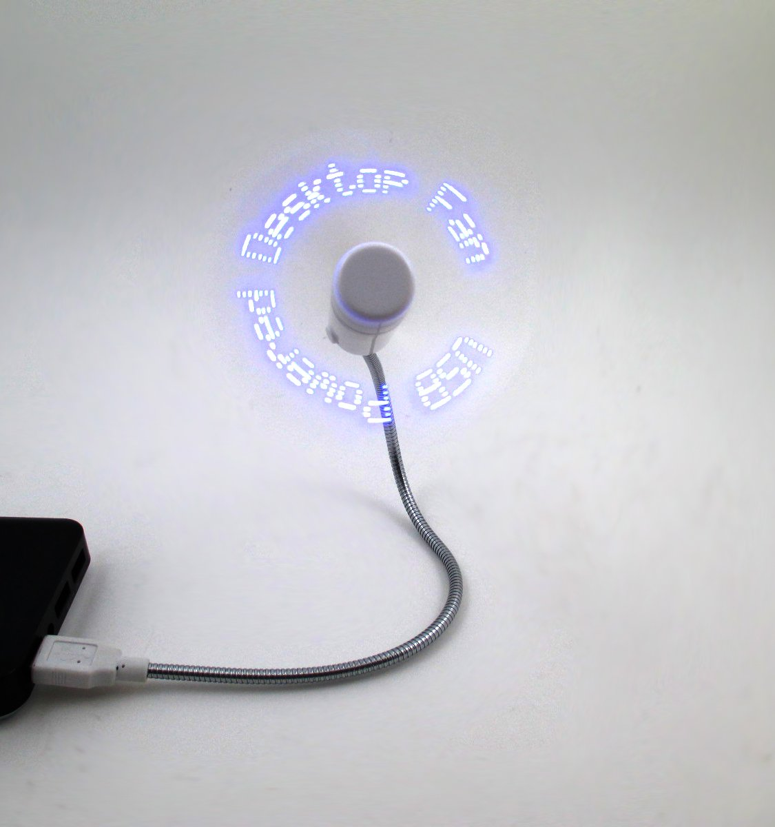 BSBL USB Powered Desktop LED Programmable Message Fan(China (Mainland))
