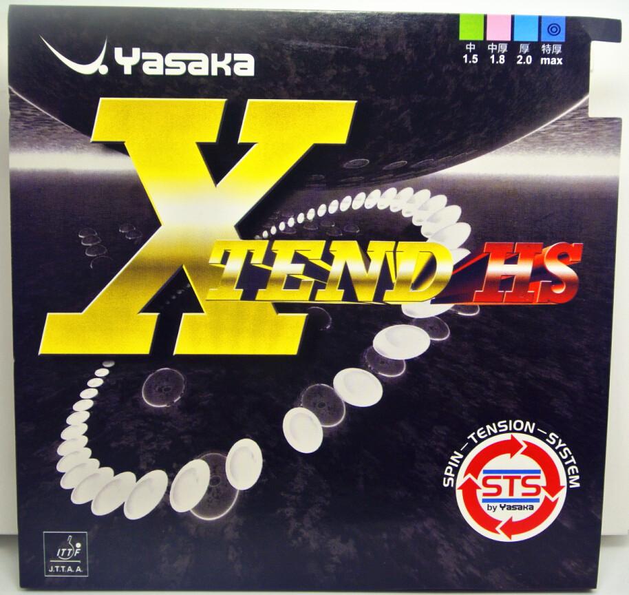 SALE Japaness YASAKA XTEND HS Soft Sponge Table Tennis Rubber/ Ping Pong Rubber 2pcs/lot Free shipping(China (Mainland))