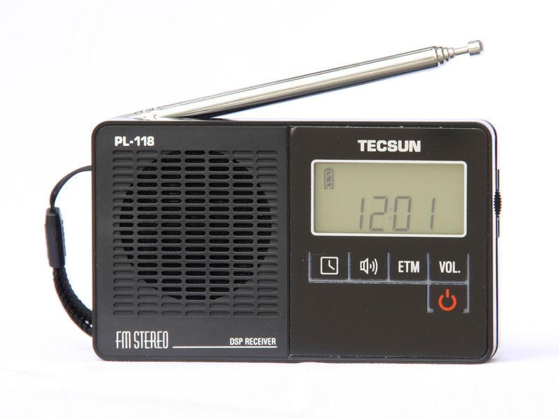 TECSUN PL 118 Ultra Light Mini Radio PLL DSP FM Band Radio