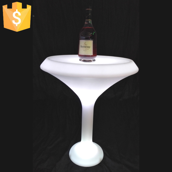 LED Banquet beer cooler cocktail Bar Table Lumineux LED Deco interieur/exterieur lighting coffee bar furniture Free Shipping(China (Mainland))