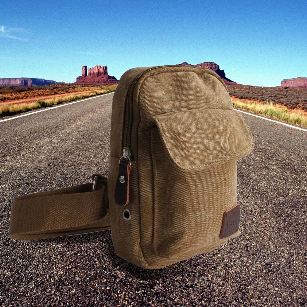 2016 New Fashion Men Sport Canvas Messenger Bags Man Shoulder Bag Casual Outdoor Travel Hiking Military Messenger Bag