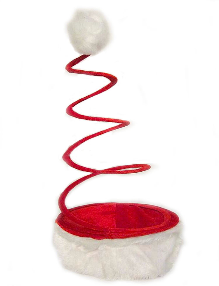 2PCS/LOT Spring christmas hats Univetsal Christmas Supplies Fashion Christmas Decoration(China (Mainland))