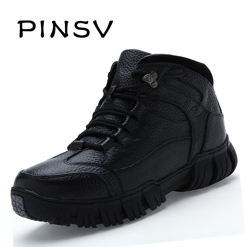 2015 New Mens Brand ZNPNXN Waterproof Anti-skid Mountain Climbing Black Rubber Boots Outdoor Trekking Outdoor Snow Flats Shoes<br><br>Aliexpress