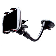 360 degree Car Windshield Mount Cell Phone Holder Bracket Stands For Samsung iPhone MP3 MP4 iPod GPS HTC Smartphone