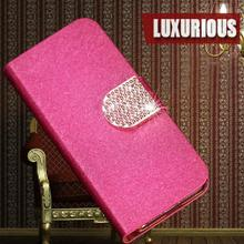New Arrival Hot Sale Flip Leather Cover Case For LG D325 D320 L70 HP cell phone case with stander Free Shipping & Wholesale(China (Mainland))