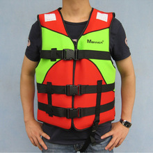 2014 Hot Sale Water Jet Surf Sailing Adult Life Vest Neoprene Material Clothing Rubber Boat Fishing Outdoor Recreation Dedicated(China (Mainland))