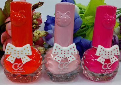hello kitty Candy color gel nail polish vernis a ongle Colored esmaltes para pintar unha 9ml 1pcs Manicure tool Nail Art 2015 (China (Mainland))