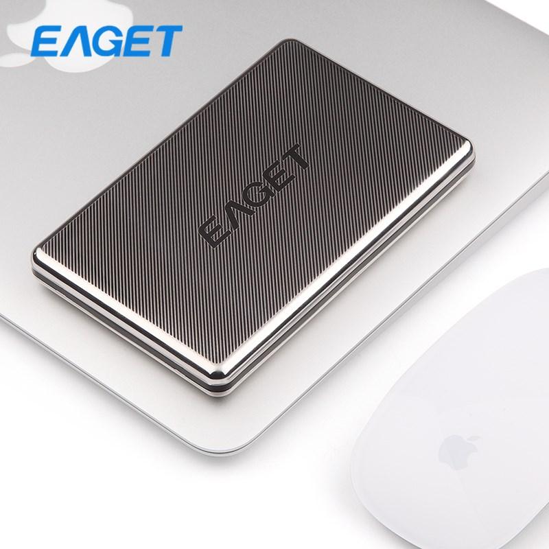 Original EAGET G50 500GB HDD 2.5 Hard Disk External Hard Drives Stainless Steel Ultra-thin USB 3.0 High-Speed 500GB Hard Drive(China (Mainland))