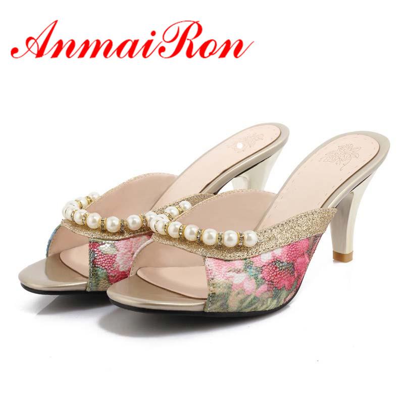 ANMAIRON Free Shipping Pumps Women Summer Sandals Fashion Causal Shoes Hige-Heels Peep Toe Platform Shoes Women Size 34-40<br><br>Aliexpress