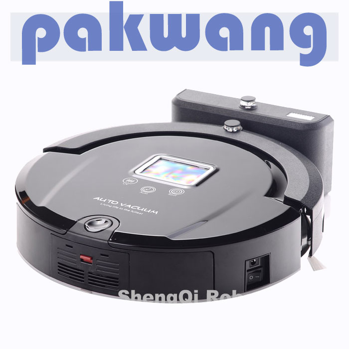 Auto robotic vacuum cleaners A320 home appliance with mop UV lamp LCD touch screen robotic aspirador(China (Mainland))