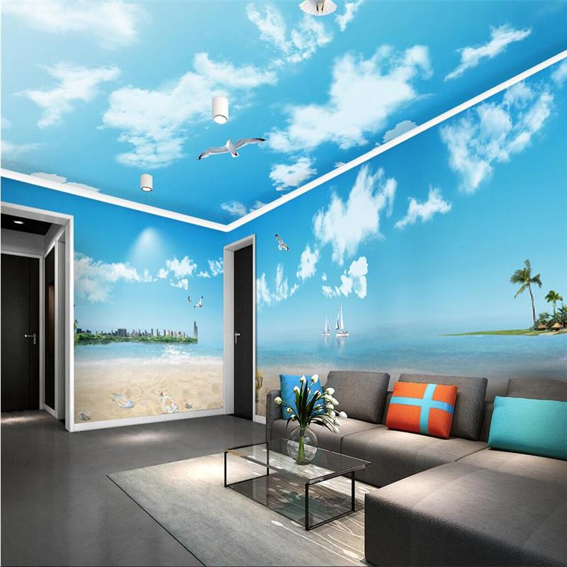 Beach themed bedding reviews online shopping beach for Mural room white house