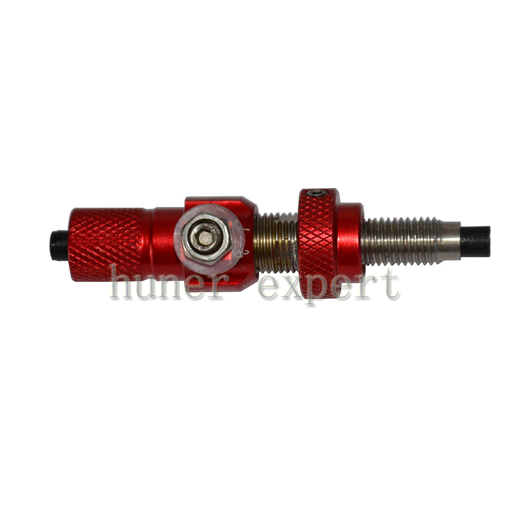 A aluminum alloy take down bow hunting archery cushion plunger and one piece target magnetic arrow