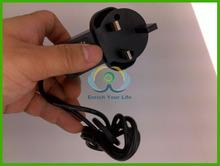 DPA-55 black 5.5x2.1mm UK plug 5V 2A ac to dc converter mains charger 100pcs/lot DHL Free Shipping(China (Mainland))