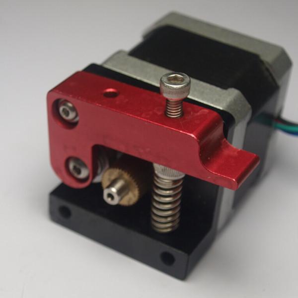 3D printer parts right hand MK8 direct drive Extruder kit set no motor compact extruder aluminum