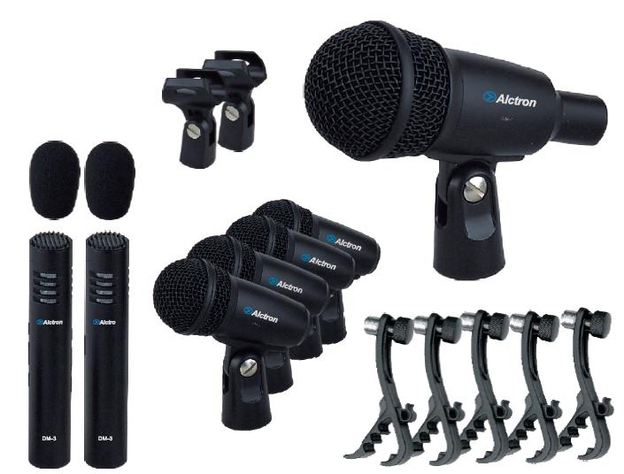 T8400 alctron drum microphone set drum 7 piece set drum clip(China (Mainland))