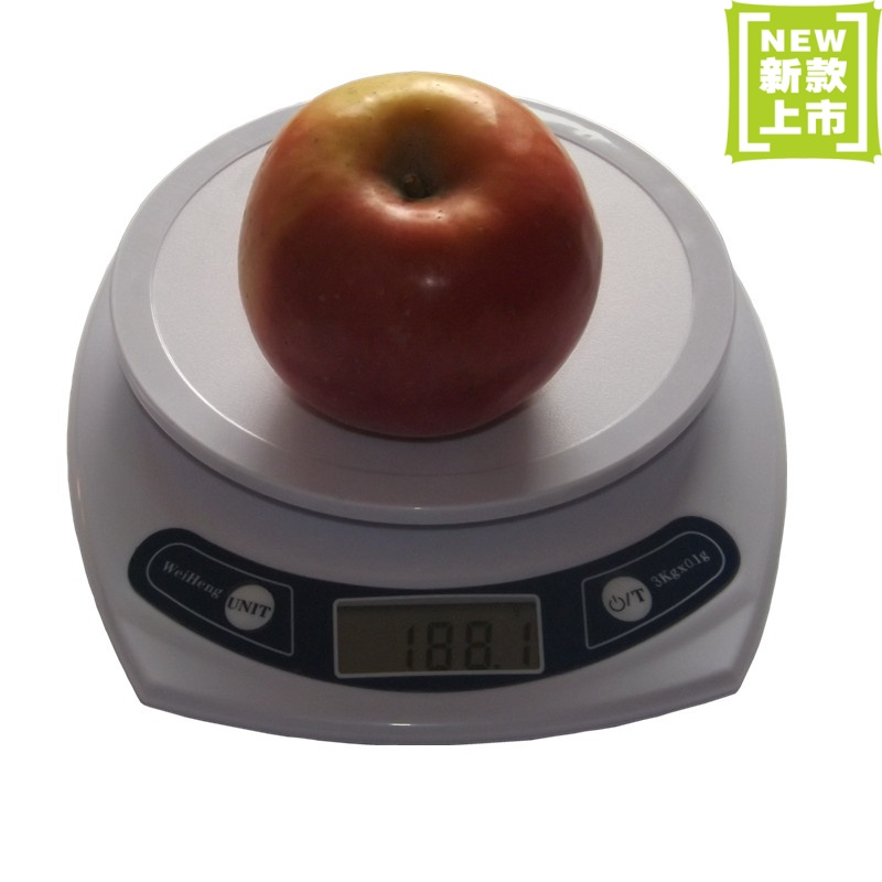 3kg 0.1g kitchen electronic scales kitchen scale heguoteng baking scale platform scale