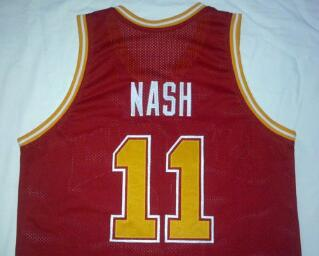 free shipping #11 Steve Nash jersey, Santa Clara Broncos College Basketball Jersey or customize Any number Men's Stitched Jersey(China (Mainland))