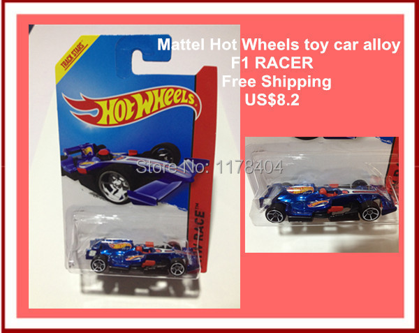 HOT SALE Free Shipping car model, 1:64 car toys, children's toys, alloy car Hot Wheels DEEP BLUE FOMULA ONE RACING CAR(China (Mainland))
