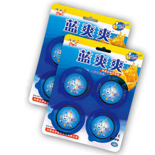 3x Sapphire Automatic Flush Toilet Deodorant Solid Blue Bubble Toilet Bowl Cleaner Cleaners New(China (Mainland))