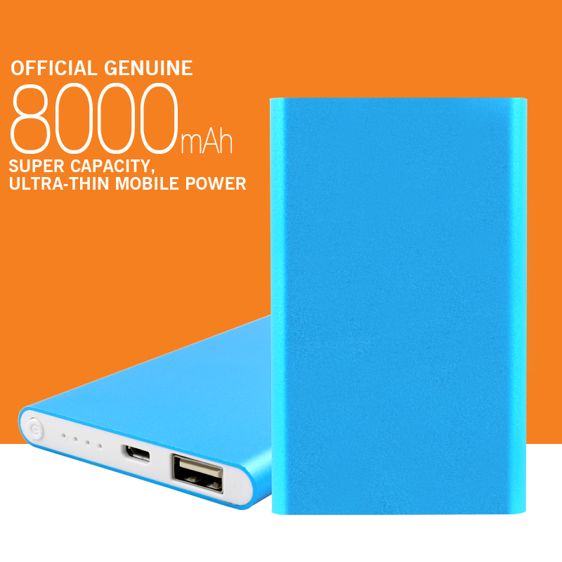 Portable Charger 8000mAh power bank External Emergency Portable Battery Charger Powerbank For Mobile Free Shipping(China (Mainland))