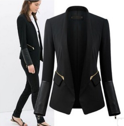 Long women's suit jackets – Novelties of modern fashion photo blog