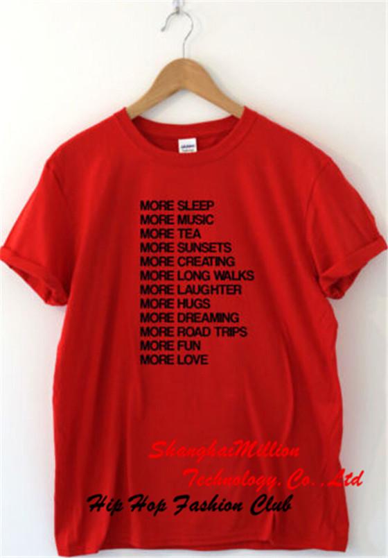 Unisex LIFE GOALS x Humour T shirt Funny Tee Slogan Gift hipster swag Women Men Nerd Cotton(China (Mainland))