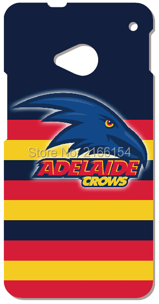 Retail Adelaide Crows phone Cover For HTC one X M7 M8 M9 For Samsung Galaxy E5 E7 S3 S4 S5 Mini S6 S7 Edge Plus Note 3 4 5 Case(China (Mainland))