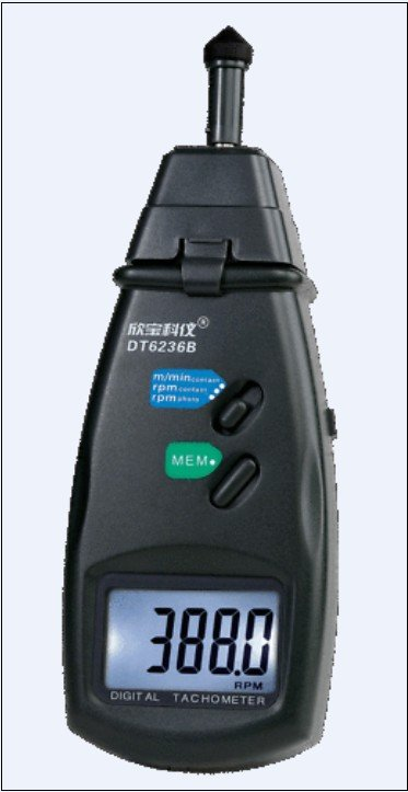 Digital SAMPO Tachometer Contact & Non-Contact DT6236B