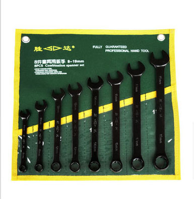 2014 Real Ratchet Ferramentas 8pcs/set Metric Carbon Steel Wrench Set
