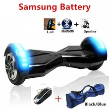 Buy 8 inch hoverboard samsung battery electric scooter 2 wheel standing scooter hoverboard skateboard bluetooth balance board for $199.98 in AliExpress store