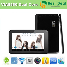 High Quality 7 inch Capacitive Screen VIA 8880 Dual Core Tablet PC Android 4.2 RAM 512M ROM 8GB(China (Mainland))