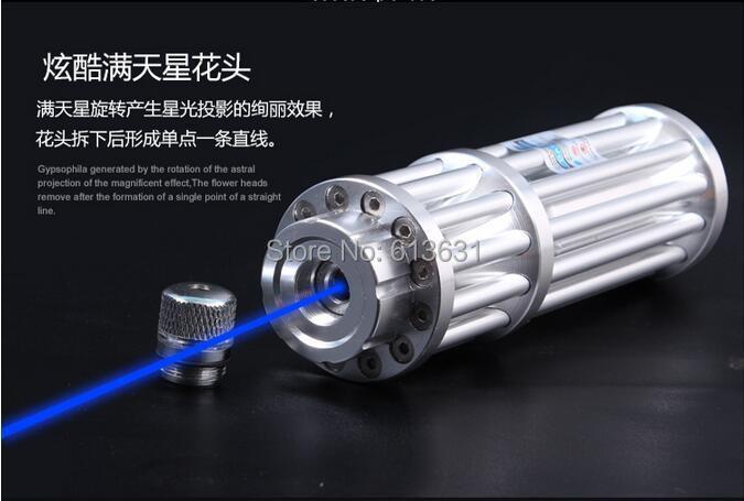 30000mW high powerful laser pointer 3W blue laser burn match shot birds burn soldering laser pointer laser gun shipping free(China (Mainland))