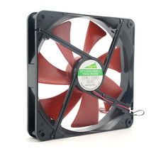 high quality Best  silent quiet 140mm pc case cooling  fans 14cm DC 12V 4D plug computer coolers