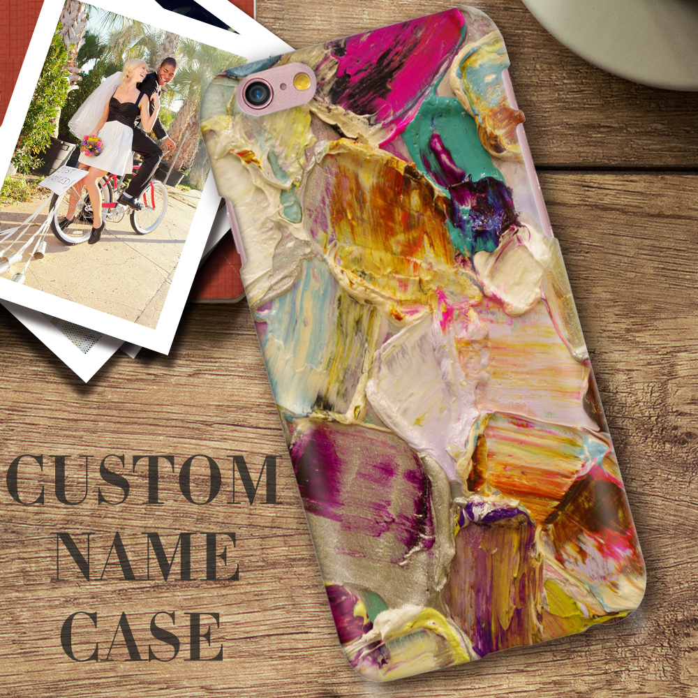 Art Printed Painting Case For Apple iPhone 5 5S SE Multi Fashion Marble Pattern DIY Customize Hard PC Cover Coque For iphone5(China (Mainland))