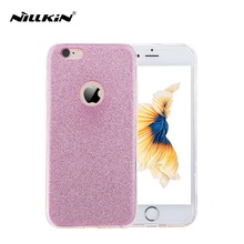 Glitter Phone Cases for iphone 6 6s plus case cover mobile phone bags & cases Brand New Arrive 2016 Screen Protector