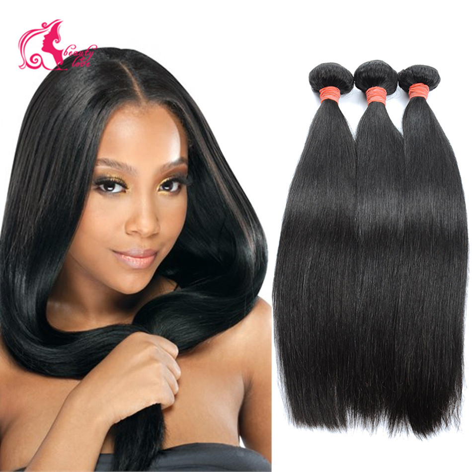 Queen Hair Products 7A Brazilian Virgin Hair Straight Brazilian Hair Weave 4 Bundles Unprocessed Virgin Brazilian Straight Hair