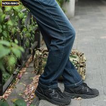 Mens Cordura Nylon 77% Cotton Urban Tactical Jeans UTP Military Cargo Jeans Wear Resistant Tactical denim pants Trousers(China (Mainland))