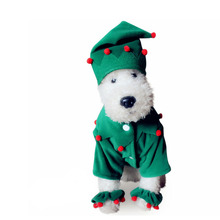 Buy Dog cat pet Santa Claus Christmas clown costume cosplay party clothes winter warm dog puppy jacket coat clothing dog hat for $7.88 in AliExpress store