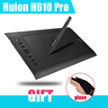 Original Huion H610 Pro 10 x 6 25 Art Graphics Drawing Tablet 5080 LPI Resolution Rechargeable