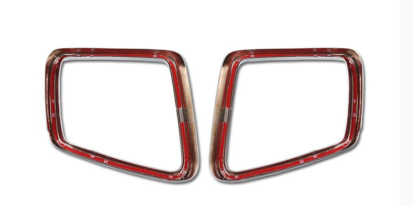 Chrome Side Door Mirror Cover Trim For Mercedes Benz ML GL W164 X164 Car Styling