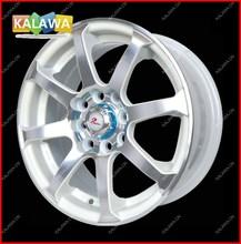 "one set 14 inch Alloy Wheel Racing Wheel Rims (14x6"") H*PCD:8*100/114.3 JF003-White Freeshipping GGG(China (Mainland))"